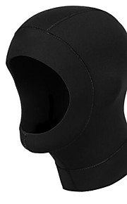 Diving Hoods 3mm Diving Hoods Unisex For Swimming  Diving Thermal  Warm  Protective  Sunscreen Black S  M  L  XL-Sports