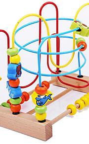 Verlicht stress / Educatief speelgoed Ontspannende hobby's Speeltjes Noviteit Cirkelvormig / Cilindrisch Hout RegenboogVoor jongens /
