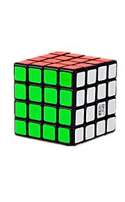 Legetøj Glat Speed Cube 4*4*4 Professionel Level Minsker stress / Magiske terninger Sort Fade ABS / Plastik