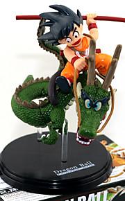 Bola de Dragón Son Goku PVC 13.5CM Las figuras de acción del anime Juegos de construcción muñeca de juguete