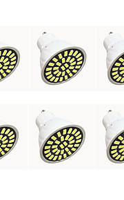 6W GU10 LED-spotpærer G50 32LED SMD 5733 480LM-500LM lm Varm hvit / Kjølig hvit Dekorativ AC110 / AC220 V 6 stk.