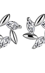 May Polly  Europe and the United States are more drilling windmill zircon crystal earrings