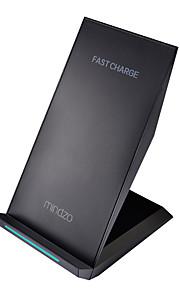 mindzo быстрый беспроводной зарядное быстрая зарядка, как парусное стандарт ци для Samsung Galaxy s7 s7 края галактики s6 s6 края
