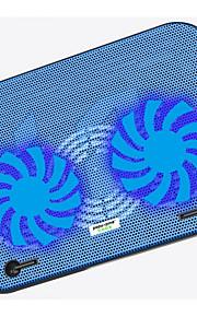 Ultrathin Double Fan Cooling Pad Low Noise For Laptop