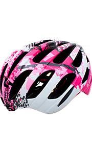남여 공용 자전거 헬멧 N/A 통풍구 싸이클링 사이클링 도로 사이클링 이 외 원 사이즈 탄소 섬유 +EPS EPS+EPU 핑크