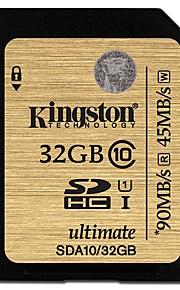 Kingston 32Gb SD Card geheugenkaart UHS-I U1 Class10