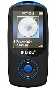 RUIZU MP3 MP3 / WMA / WAV / FLAC / APE / OGG / AAC Rechargeable Li-ion Battery