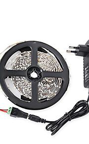 5m 3528 300 smd IP65 rgb ac 100-240V 12v 3a strømforsyning linker med lampe strømforsyning