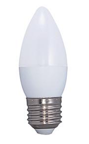 5.5W E26/E27 LED-globepærer C37 14 SMD 2835 415 lm Varm hvit AC 220-240 V 1 stk.