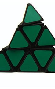 Legetøj Glat Speed Cube Pyraminx Originale Magiske terninger Sort Fade Plastik