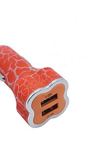 grietas de ciruelas como de alta calidad de doble USB cargador de coche adaptador de alimentación de cigarrillos más ligero para los