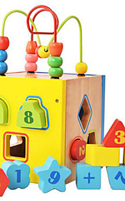 Verlicht stress / Educatief speelgoed Ontspannende hobby's Speeltjes Noviteit Vierkant Hout Regenboog Voor jongens / Voor meisjes