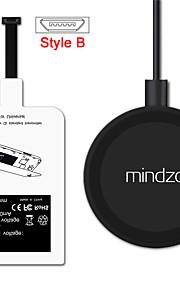 стиль-б Android зарядное устройство адаптер Рецептор приемник колодки катушка комплект беспроводной зарядки для всех андроид микро USB