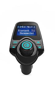 Bluetooth FM Transmitter Support TF Card, U Disk, Car Charger