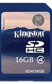 Kingston 16GB SD Card geheugenkaart Class4