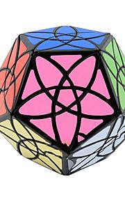 Legetøj Glat Speed Cube Alien MegaMinx Originale Minsker stress Magiske terninger Sort Fade Plastik