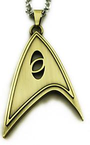 Más Accesorios Inspirado por Cosplay Cosplay Animé Accesorios de Cosplay Collares Dorado / Plata Aleación