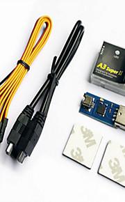 Geral Geral RC Servo / Simuladores Transmissor / Controlador remoto peças Acessórios RC Quadrotor Preto Metal Plástico 1 Peça