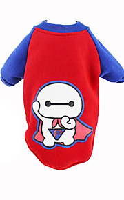 Dog Coat Red Dog Clothes Winter British Cute