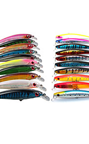 "20 pcs Hard Bait / Minnow / Lure kits / Fishing Lures Minnow Random Colors 13.5;11.2 g/3/8 oz. / 1/2 oz. Ounce mm/4-1/3"" inch,Hard"