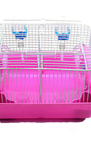 Rodents Cages Plastic Pink