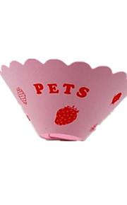 katten honden Kraag hands-free Stippen Roze Kunststof