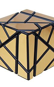 Legetøj Let Glidende Speedcube Alien Spejl Professionelt niveau Magiske terninger Sort Fade Ivory Brun Pink Grøn glat StickerAnti-pop