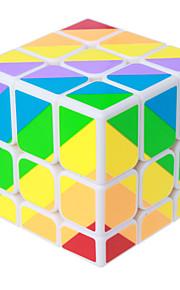 Yongjun® Let Glidende Speedcube 3*3*3 Professionelt niveau Magiske terninger Regnbue glat Sticker Anti-pop Justerbar fjeder ABS