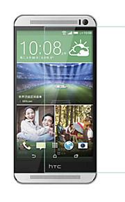 huyshe łatwa instalacja anti scratch anty-wodoodporny ochraniacz ekranu linii papilarnych hartowanego szkła dla HTC One m9