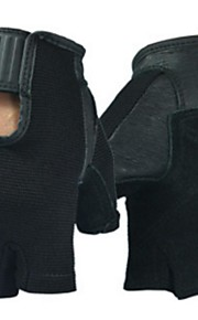 BODUN /SIDEBIKE® スポーツグローブ フリーサイズ サイクルグローブ 春 夏 秋 冬 サイクルグローブ 高通気性 耐摩耗性 耐久性 保護 フィンガーレス メッシュ サイクルグローブ ブラック フィットネス