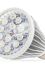 12w E27 / E14은 / GU10 (12) 높은 전원 LED 조명 (8red 2blue 1white 1uv) 290-330lm AC 85-265 V 1 개를 성장 주도