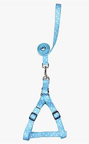 honden harnassen Verstelbaar/Uitschuifbaar Cartoon Blauw Nylon
