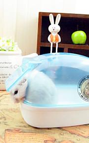 Knaagdieren Chinchilla's Reiniging Waterdicht Kunststof Willekeurige kleur