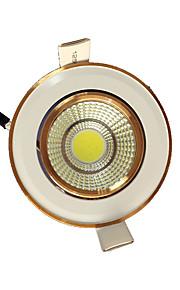 5pcs 5W cob 220-240V warm wit led-licht naar beneden plafondinbouw