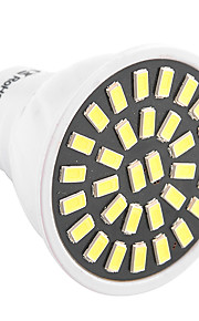 7W GU10 LED-spotpærer T 32 SMD 5733 500-700 lm Varm hvit Kjølig hvit Dekorativ AC 220-240 AC 110-130 V 1 stk.