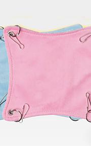 설치류 침대 폴더 옷감 블루 핑크