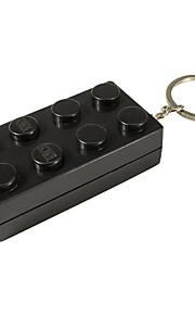 Nøglering Smykker Unikt design Geometrisk Kvadrat Mode Unisex