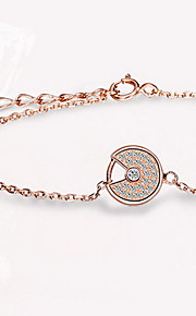 Chain Bracelet Sterling Silver Others Natural Fashion Gift Jewelry Gift 1pc