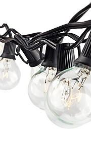 lidore streng lys med G40 pærer ul oppført 25ft utendørs streng lys for uteplass kommersiell part