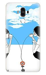 Für Muster Hülle Rückseitenabdeckung Hülle Herz Weich TPU für Huawei Huawei Mate 9 Huawei Mate-8