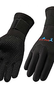 3MM Neoprene Scuba Dive Gloves Snorkeling Equipment Anti Scratch Keep Warm Wetsuit Material Winter Swim Spearfishing