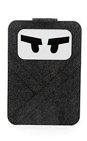 för macbook air pro 11,3 '' 13,6 '' 15,4 '' laptop ärmar mjukt omslag bärbara handväskor kände tecknad två stilar och två färger