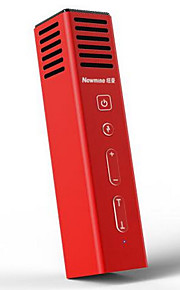 Newmine Nm202 Com Fios Microfone de Karaoke 3.5mm Vermelho