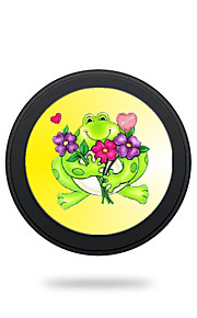 Universal  Cute Green Frog  Wireless Charging Pad Mobile Wireless Power Charger for Galaxy S6 S6 EDGE  S7 S7 EDGE NOTE5 Samsung HTC LG Nexus Nokia