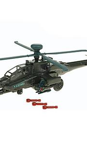 Avion & Hélicoptère Jouets Jouets de voiture 1:72 Métal ABS Plastique Vert Maquette & Jeu de Construction