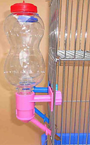 Rodents Rabbits Bowls & Water Bottles Plastic Blue Pink Yellow
