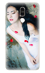 Für Muster Hülle Rückseitenabdeckung Hülle Sexy Lady Weich TPU für Huawei Huawei Mate 9 Huawei Mate-8