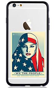 För Mönster fodral Skal fodral Ord / fras Hårt Akrylfiber för AppleiPhone 7 Plus iPhone 7 iPhone 6s Plus/6 Plus iPhone 6s/6 iPhone