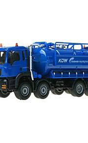 Camion Véhicule de Construction Jouets Jouets de voiture 1h50 Métal ABS Plastique Bleu Maquette & Jeu de Construction