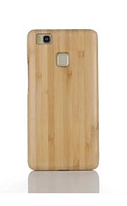 Per Resistente agli urti Custodia Custodia posteriore Custodia Tinta unita Resistente Bambù per Huawei Huawei P9 Huawei P9 Lite